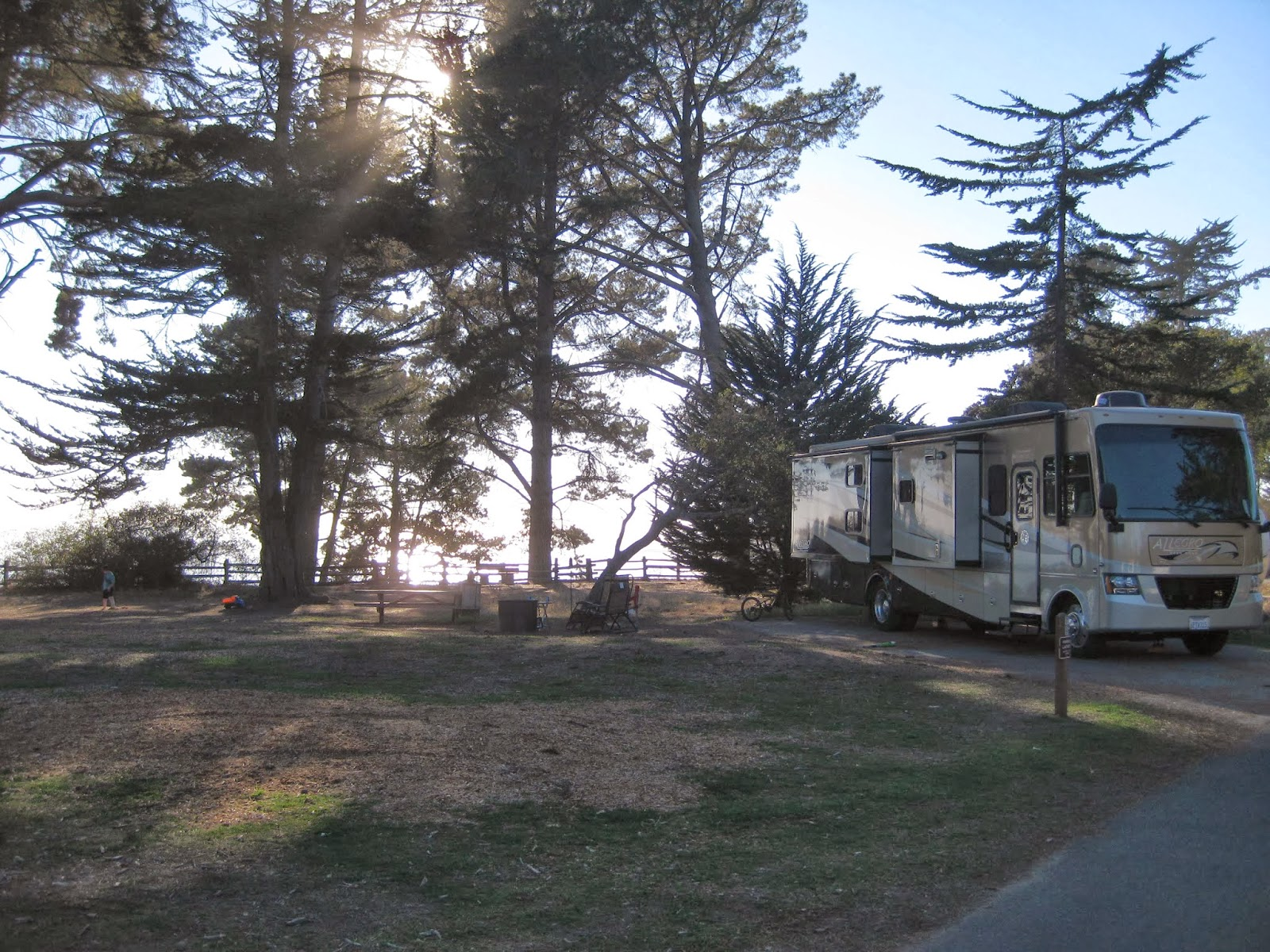 New Brighton State Beach Santa Cruz California