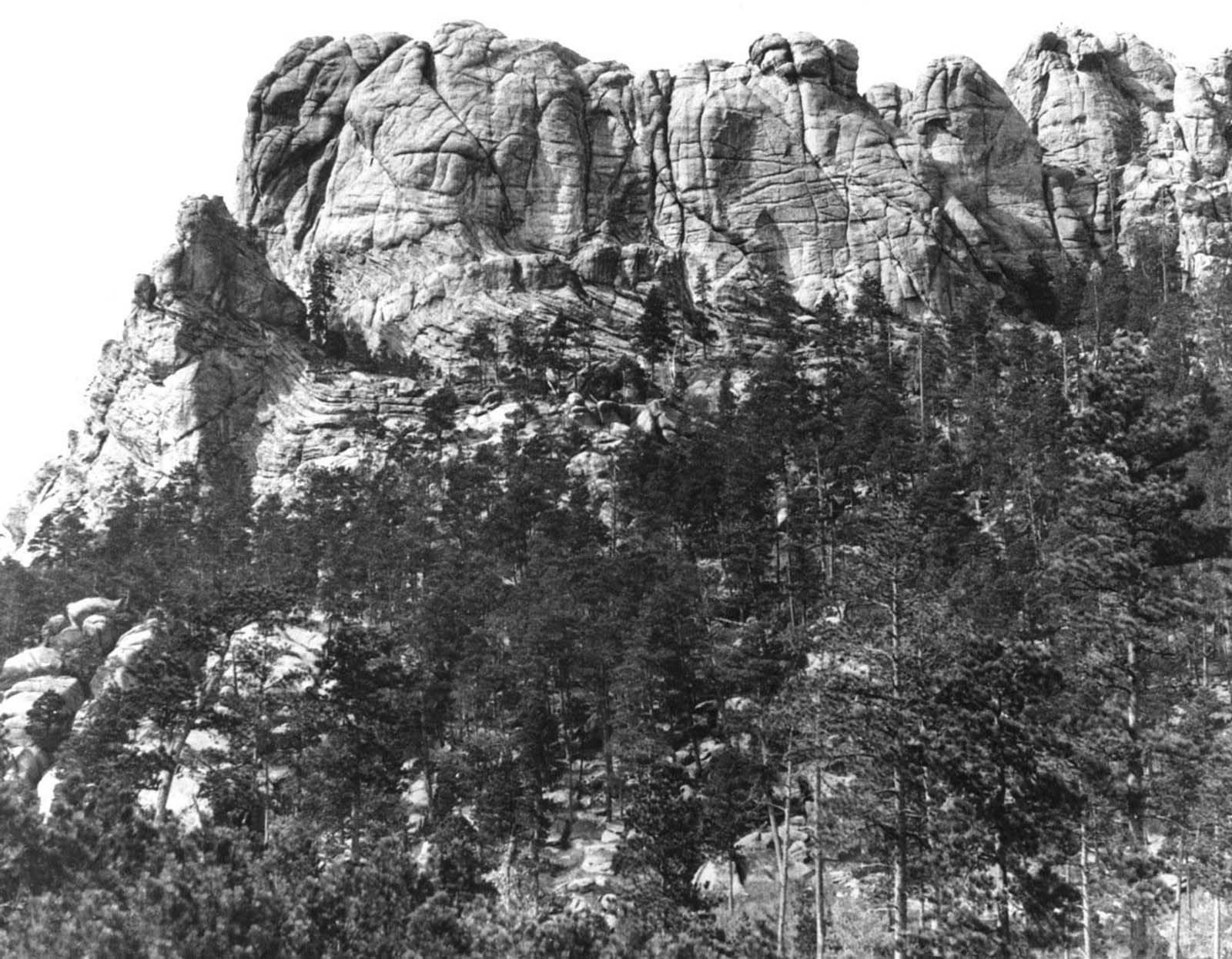 Mount Rushmore (Six Grandfathers) before construction, circa 1905