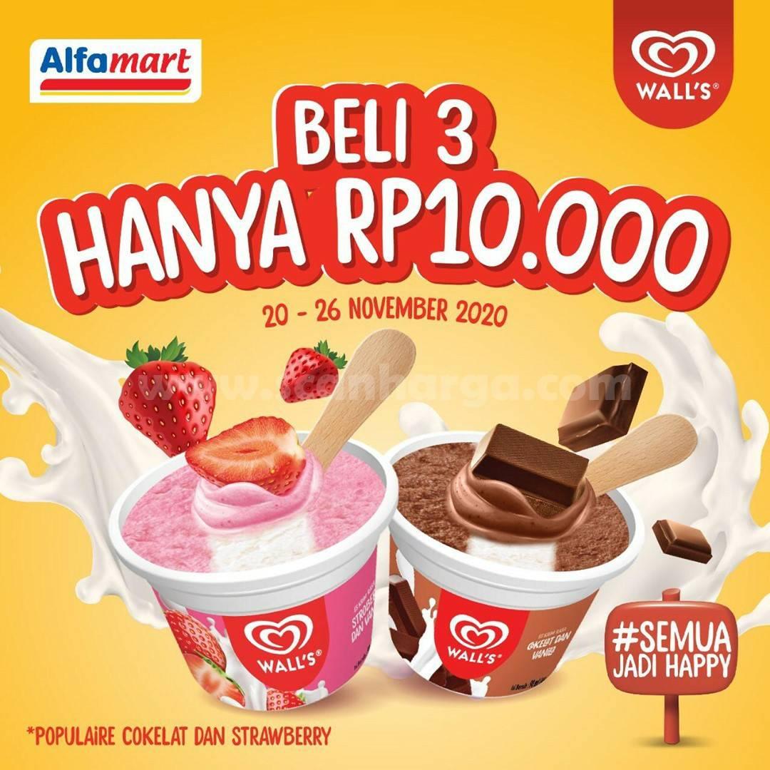 ALFAMART Promo Beli 3 Wall's Populaire Harga cuma Rp 10.000
