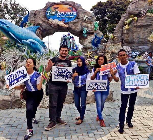 Genk JM SMA 13 Medan di Mikkie Holiday Funland