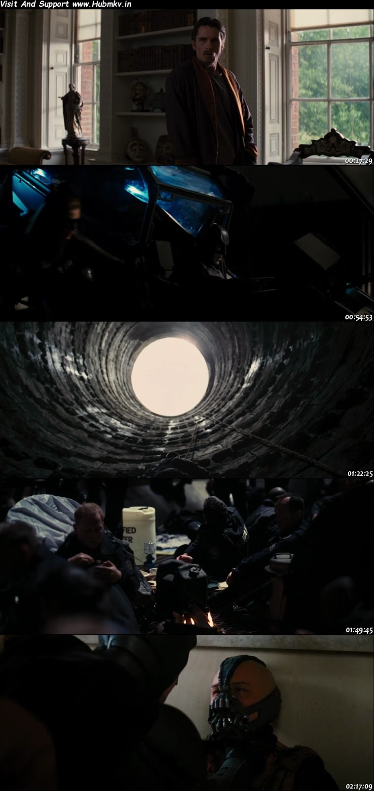 The Dark Knight Rises 2012 BluRay 480p Dual Audio In [Hindi English]