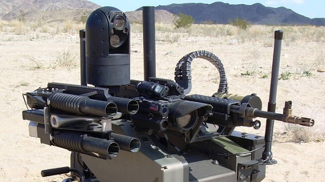 Sniper Robot Technology and remote control Military weapons