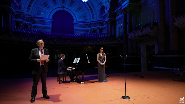 Leeds Lieder - Kevin Whately, Joseph Middleton, Kitty Whately - Leeds Town Hall (taken from live stream)
