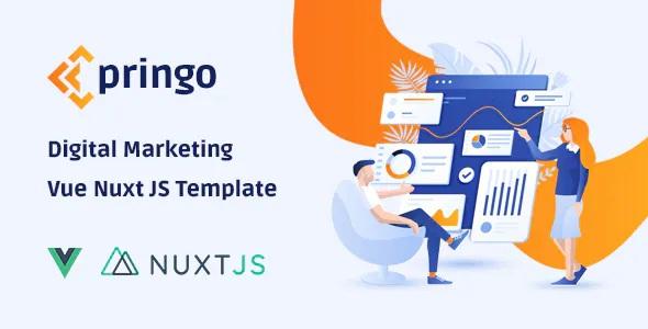 Best Digital Marketing Vue JS Template