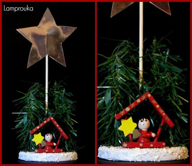 Στολίδια-κατασκευές για χριστουγεννιάτικα bazaar.