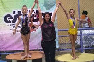 Atletas paraibanas de ginástica rítmica conquistam ouro, prata e bronze na Copa de Estados