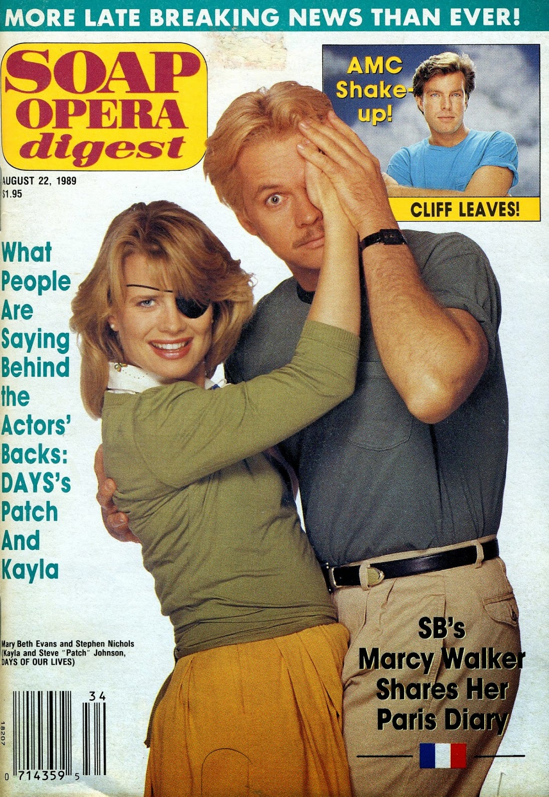Soap Opera Digest Cover-September 22, 1994