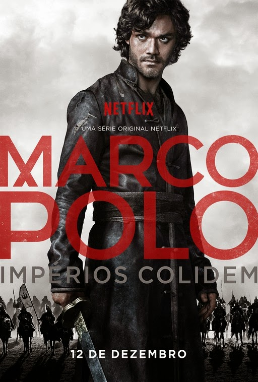 p ster de marco polo filmes netflix. Black Bedroom Furniture Sets. Home Design Ideas