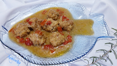 ⇚ ⇛ Albóndigas De Choco En Salsa De Almendra ⇚ ⇛