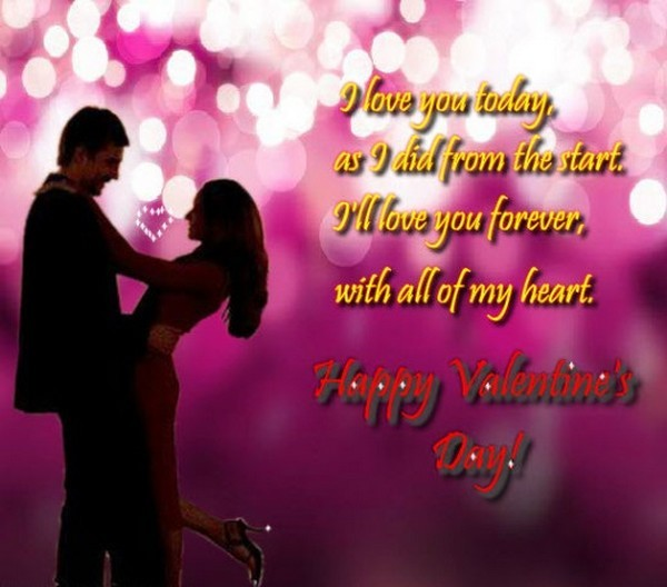 Best Happy Valentines Day Wishes Quotes For Girlfriend