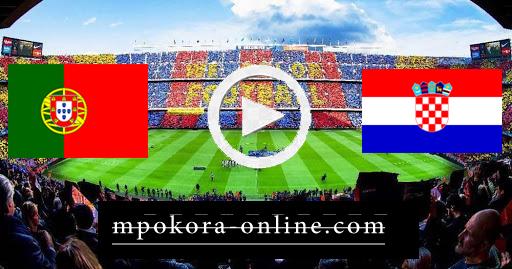 مشاهدة مباراة البرتغال وكرواتيا بث مباشر كورة اون لاين 05-09-2020 دوري الأمم الأوروبية