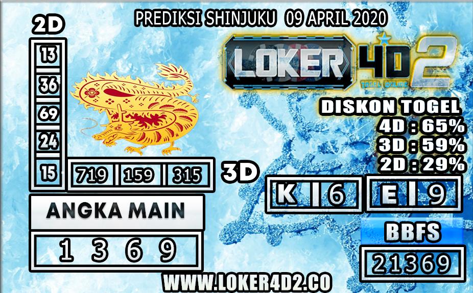 PREDIKSI TOGEL SHINJUKU LUCKY 7 LOKER4D2 09 APRIL 2020