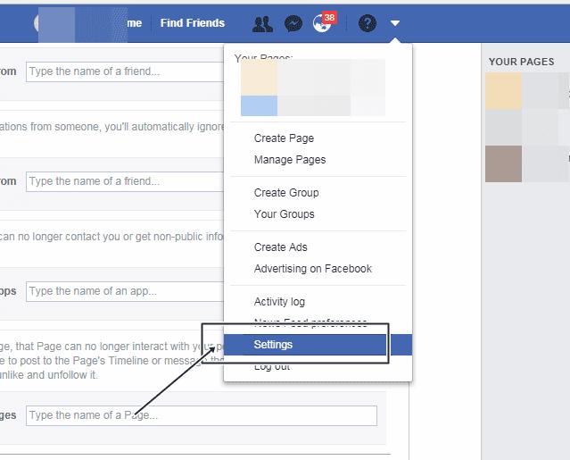 facebook par block kaise kare, facebook par unblock kaise kare, how block someone on facebook, how to unblock someone on facebook in hindi
