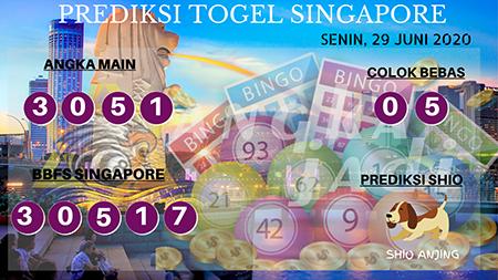 Prediksi Angka Jadi Togel Singapura Senin 29 Juni 2020