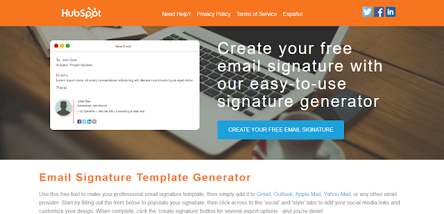 Create Free Email Signature