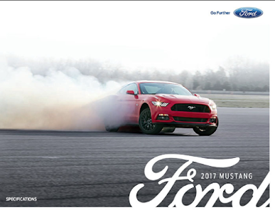 Downloadable 2017 Ford Mustang Brochure