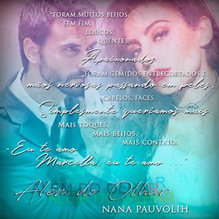 Livro Além do Olhar - Nana Pauvolih