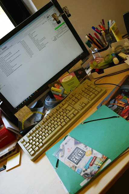 Computer Tastatur kreatives Chaos