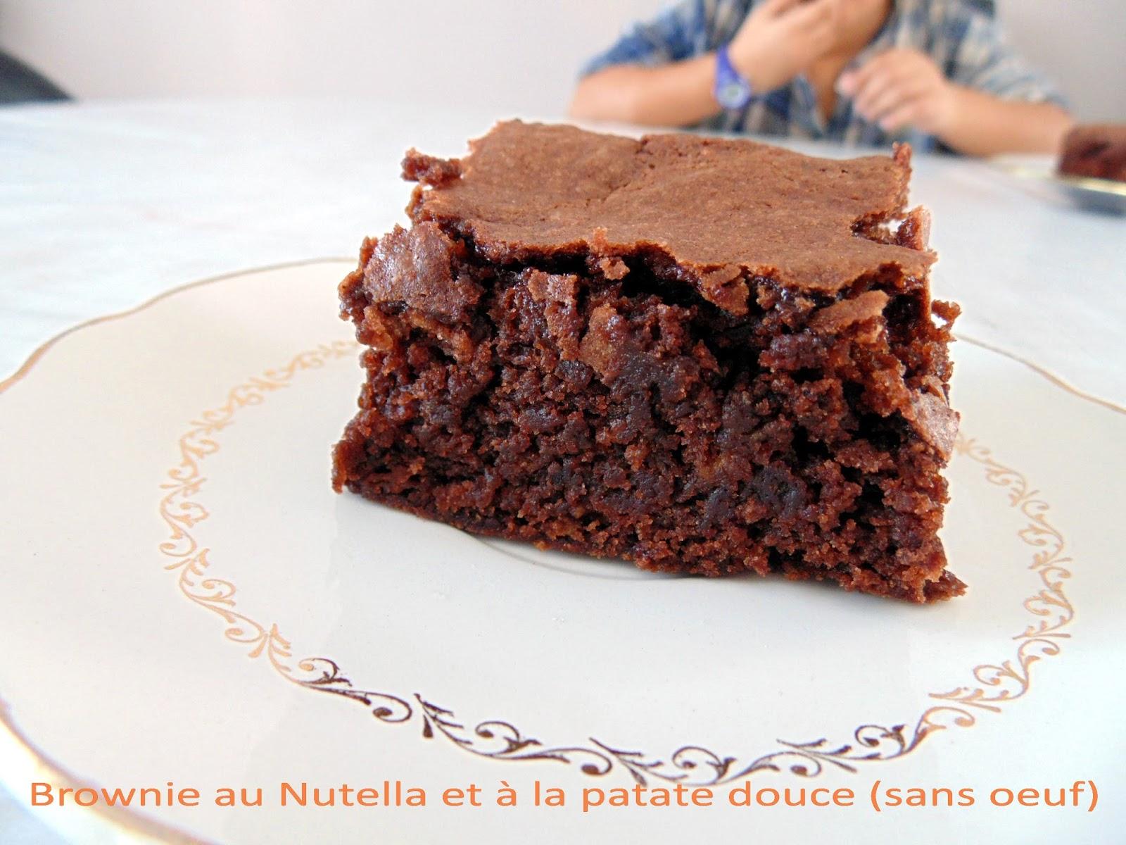 gateau gaga love cakes brownie au nutella et la. Black Bedroom Furniture Sets. Home Design Ideas
