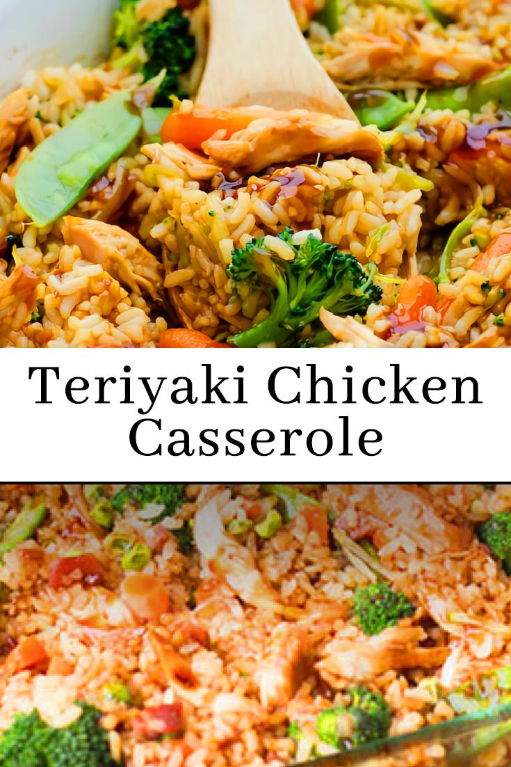 Teriyaki Chicken Casserole