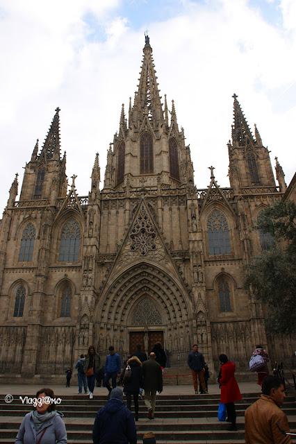 Cattedrale de la Seu nel quartiere gotico