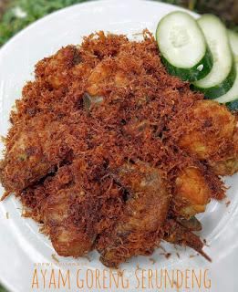 Ide Resep Ayam Goreng Serundeng.