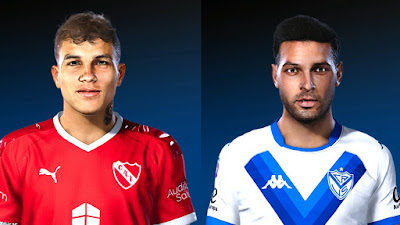 PES 2020 Faces Andrers Roa & Lucas Janson by Gordoumbanda