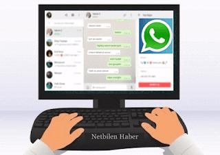 Bilgisayardan whatsapp kullanmak kişi arkadaş ekleme
