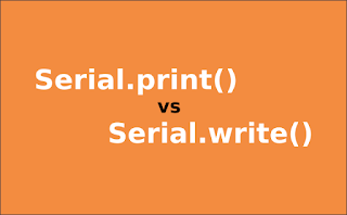 Serial.print vs Serial.write  Arduino What's the difference?
