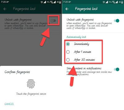 whatsapp-fingerprint-feature
