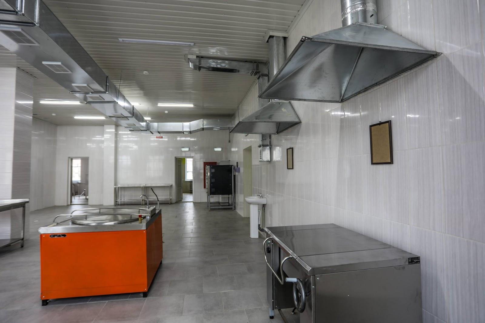 нове обладнання для військових кухонь