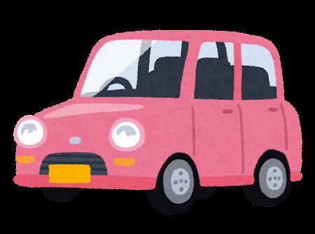 軽自動車のイラスト(車)