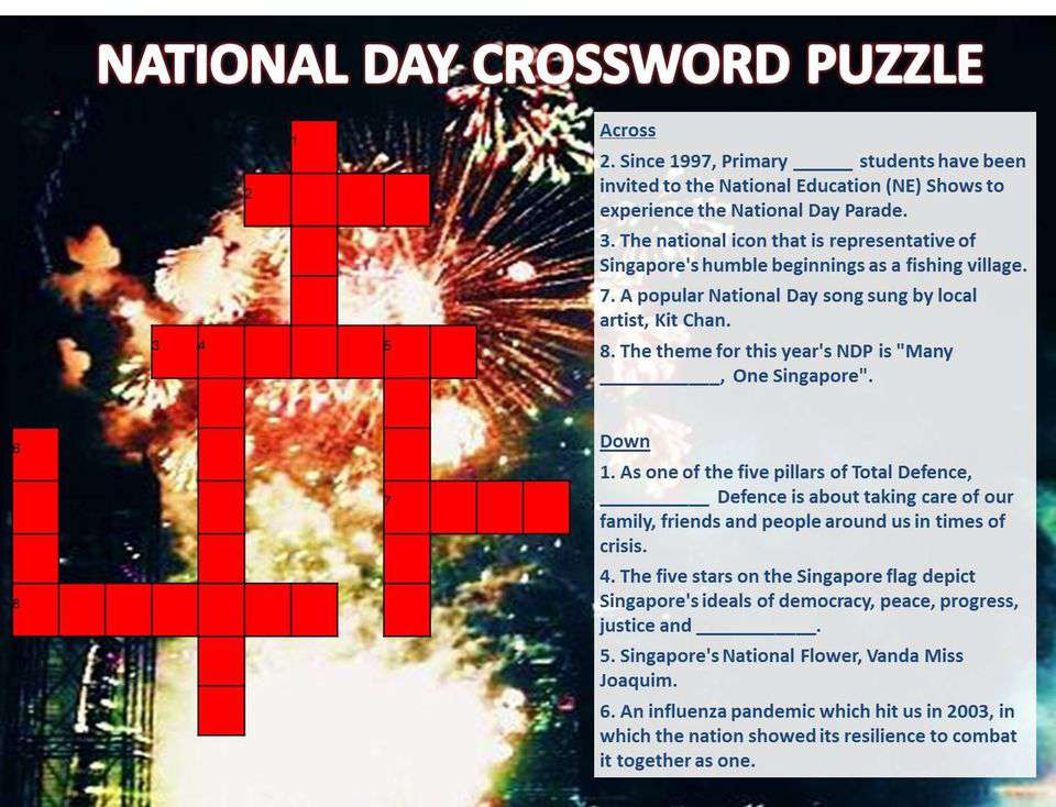 National Crossword Puzzle Day Wishes Images