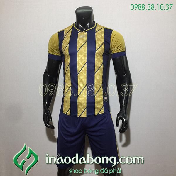 Áo bóng đá kp logo Cp HuB màu đồng