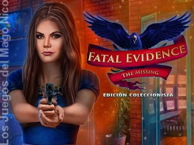 FATAL EVIDENCE: THE MISSING - Guía del juego y vídeo guía 6