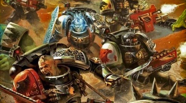 Deathwatch Rumors....... with Harlequin Tidbits.