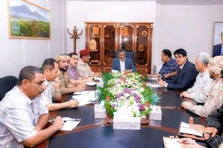 اللجنة الأمنية محافظة عدن