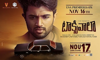 Taxiwaala USA Premieres on Nov 16th #TaxiwaalaUSAPremieresNov16th #Vijay Deverakonda