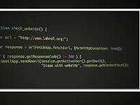 Cara Membuat Kotak Script di Postingan Blogger