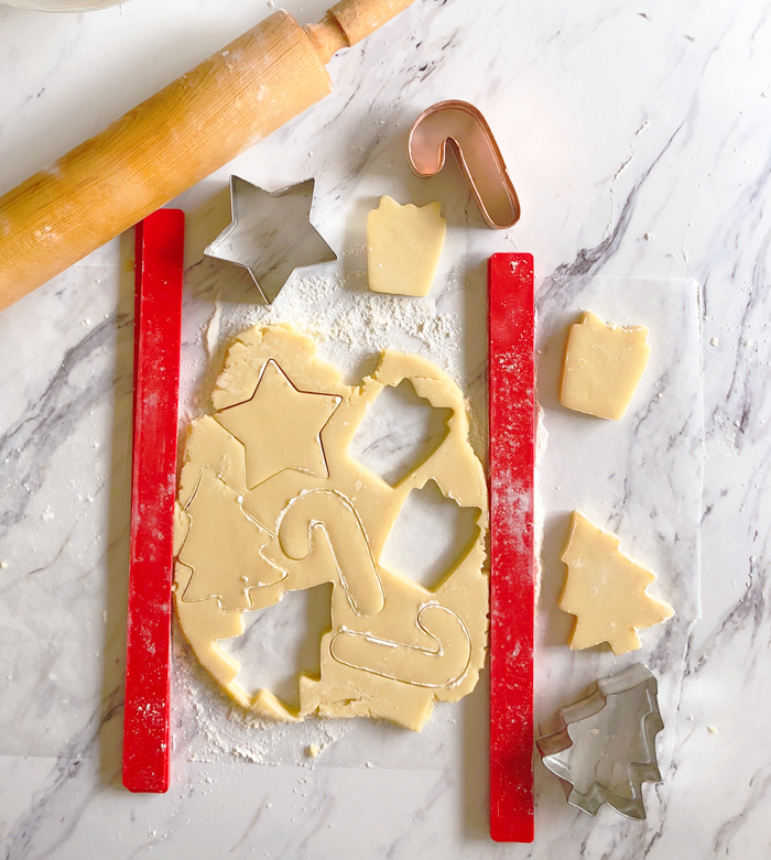 The Perfect Recipes for Decorating Christmas Cookies, from Bake at 350 | bakeat350.net