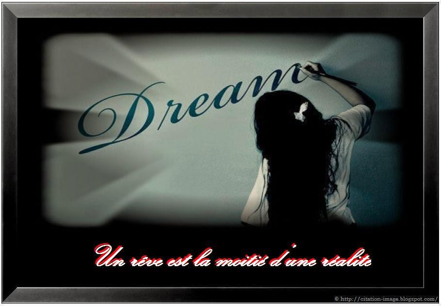 Citation sur le rêve et la réalité en image