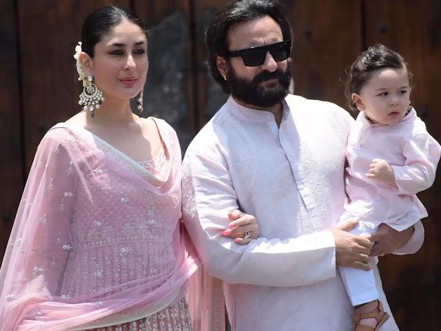 The family of Bollywood's Nawab Saif Ali Khan was happy again