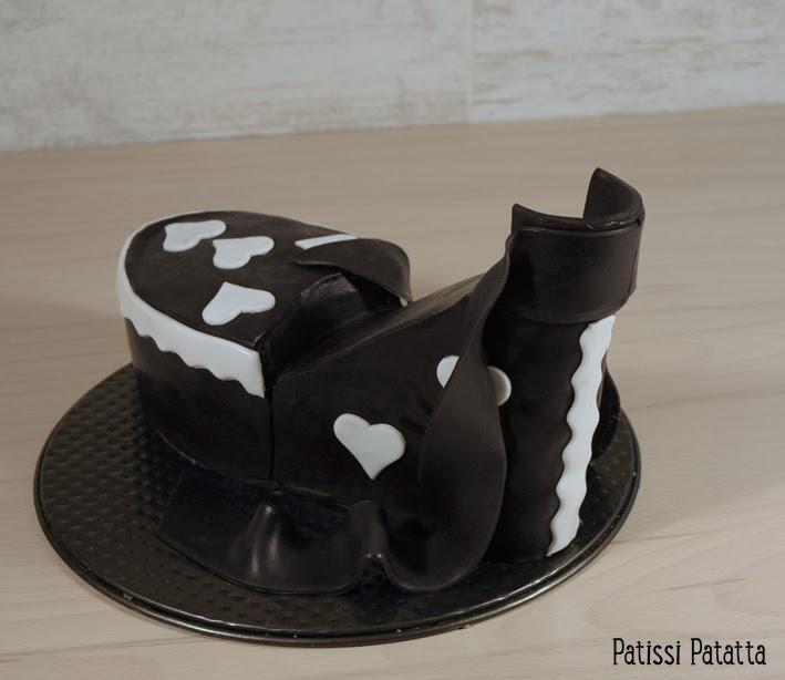 cake design, gâteau 3D, pâte à sucre, gumpaste, fondant, shoe cake