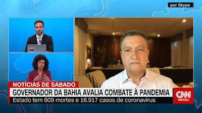 """Governador da Bahia Rui Costa: """"Só tem show e festa com público após a vacina"""