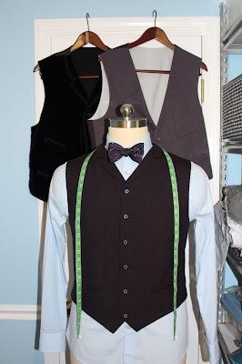 11th Doctor waistcoat pattern bundle