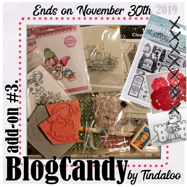 Tindaloo blogcandy November 30th