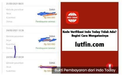 Kode Verifikasi Indo Today Tidak Ada? Begini Cara Mengatasinya