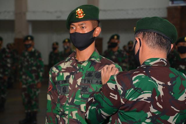 250 Prajurit Kostrad Ikuti Penataran Pelatih Bela Diri Militer