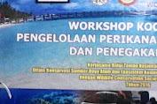 Bupati Kep.Selayar Buka Workshop Pengelolaan Perikanan Berkelanjutan Dan Penegakan Hukum Di Takabonerate