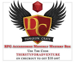 Dungeon Crate RPG Accessories Monthly Mystery Box